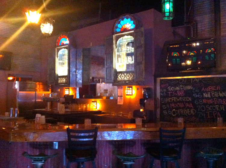 Cozy yet fabulous yet industrial bar. Only in Tucson.