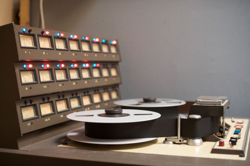 Wavelab Fall 2012: Tape Machine