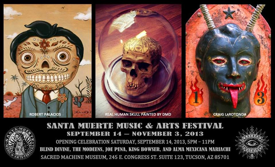 4th Annual Santa Muerte Festival