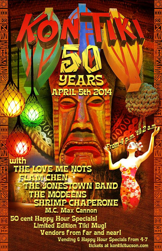 50 Years of Kon Tiki flyer