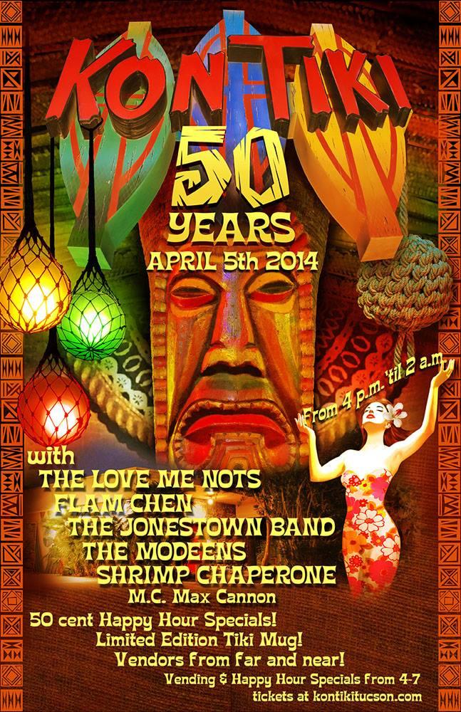 50 Years of Kon Tiki flyer