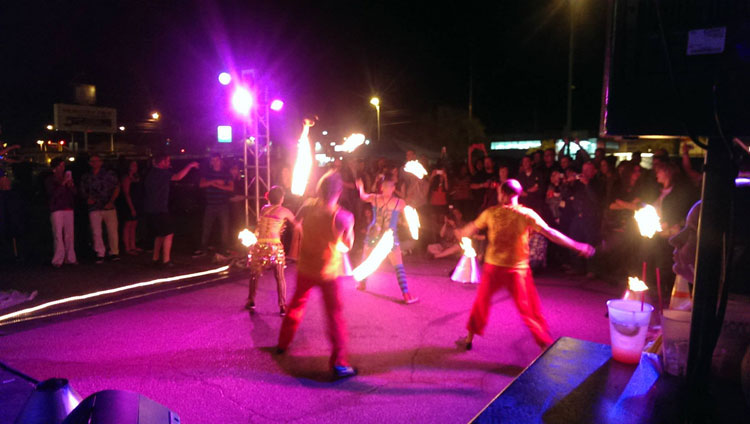Flam Chen Fire Dancers