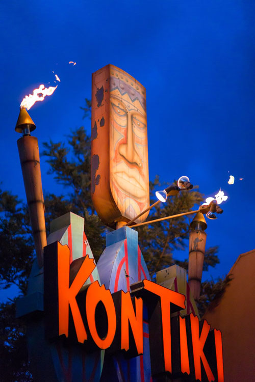 Kon Tiki Sign